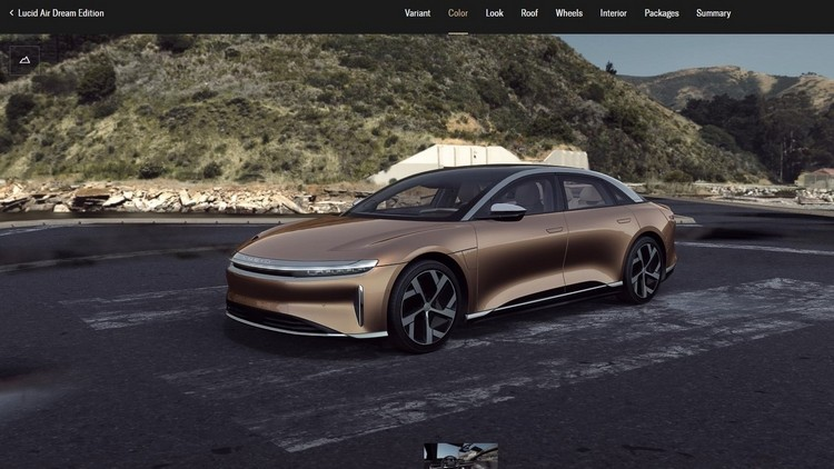 Lucid's New Tool Lets Customers Customize Everything About Their Cars