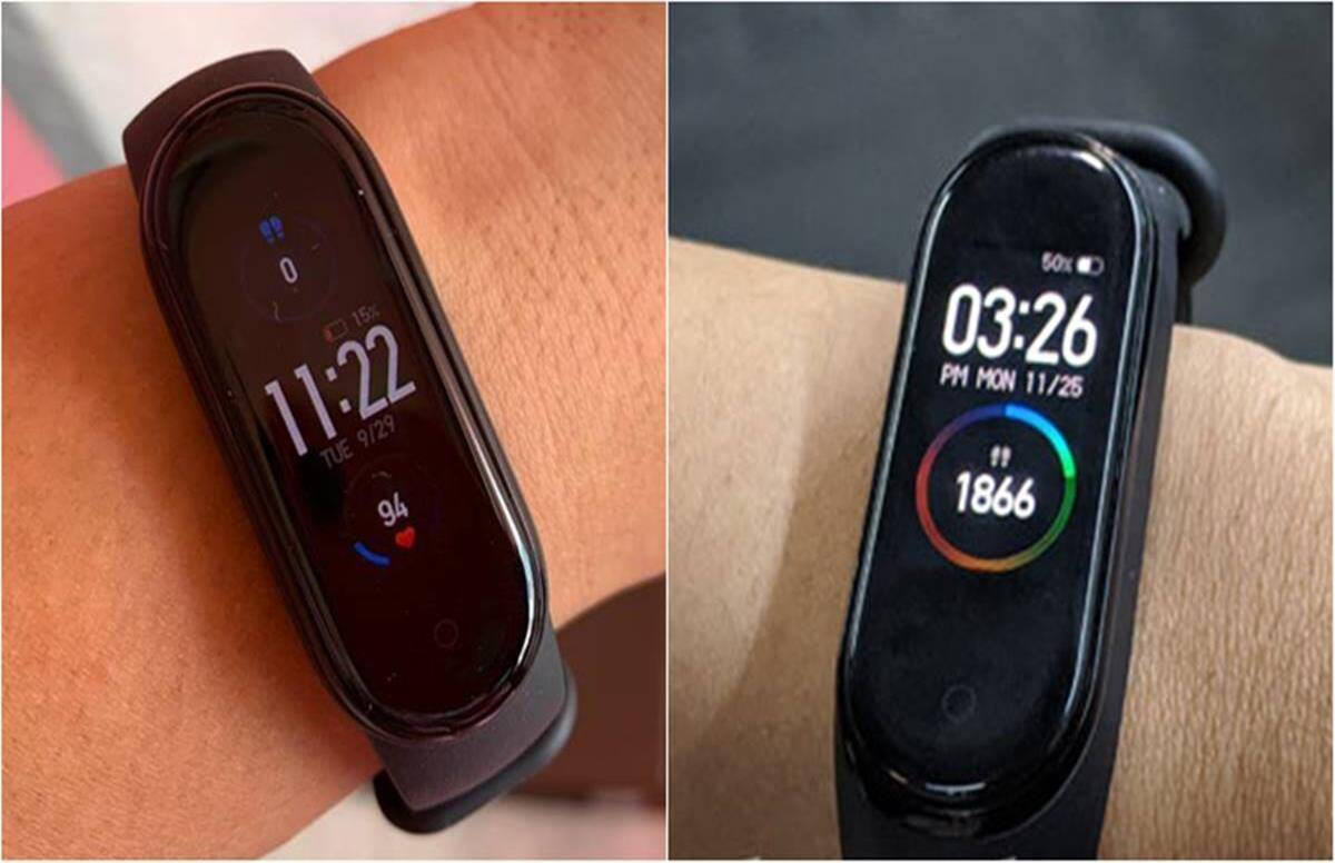 Mi Band 5 vs Mi Band 4 how these xiaomi fitness bands differ from each other available on amazon - Mi Band 5 vs Mi Band 4: how different these fitness bands are from each other, know everything