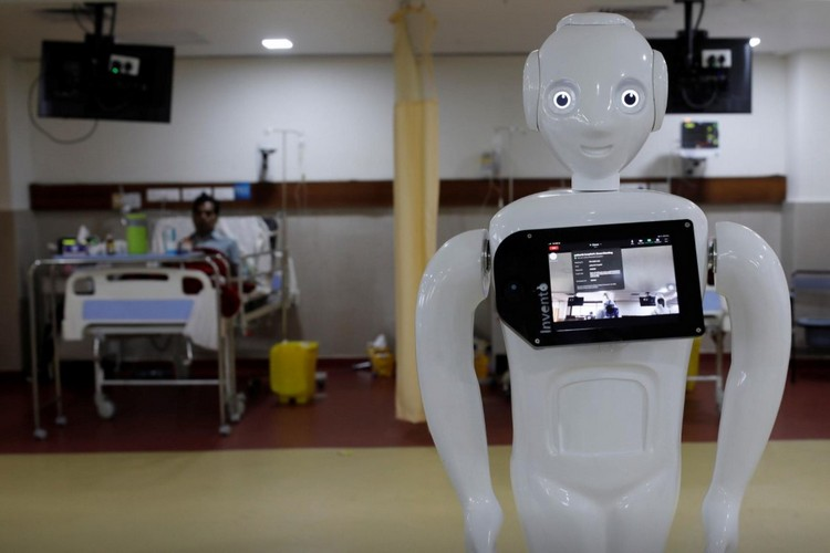 """Mitra"" the Robot is Helping Patients Communicate in India"