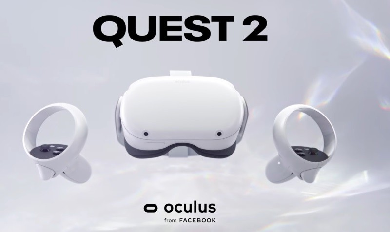 Oculus Quest 2 all-in-one VR headset launched for $299
