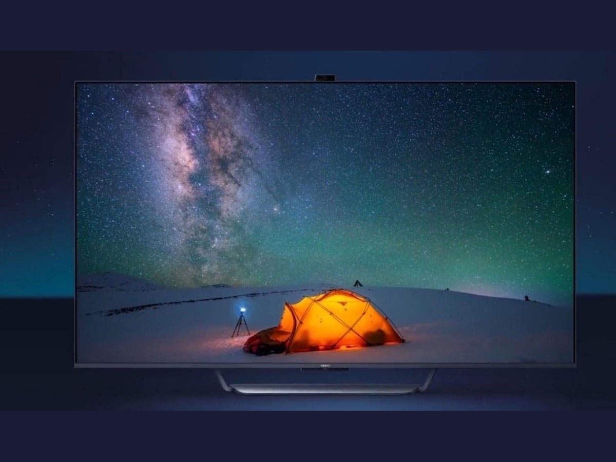 Oppo: Smart TV with pop-up camera of Oppo, entry in India next month!  - oppo to soon launch smart tv with pop-up camera in india know details