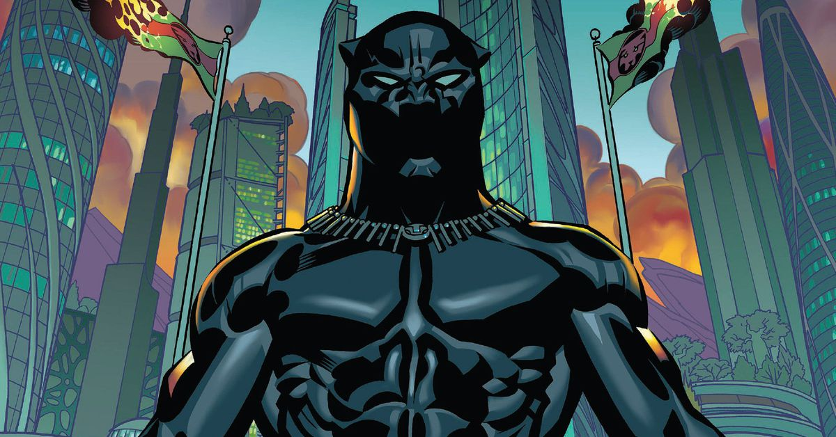 Over 200 Black Panther digital comics are free at Comixology