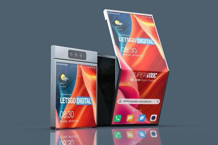 Patent Shows Oppo's Moto-Razr-Like Foldable Smartphone