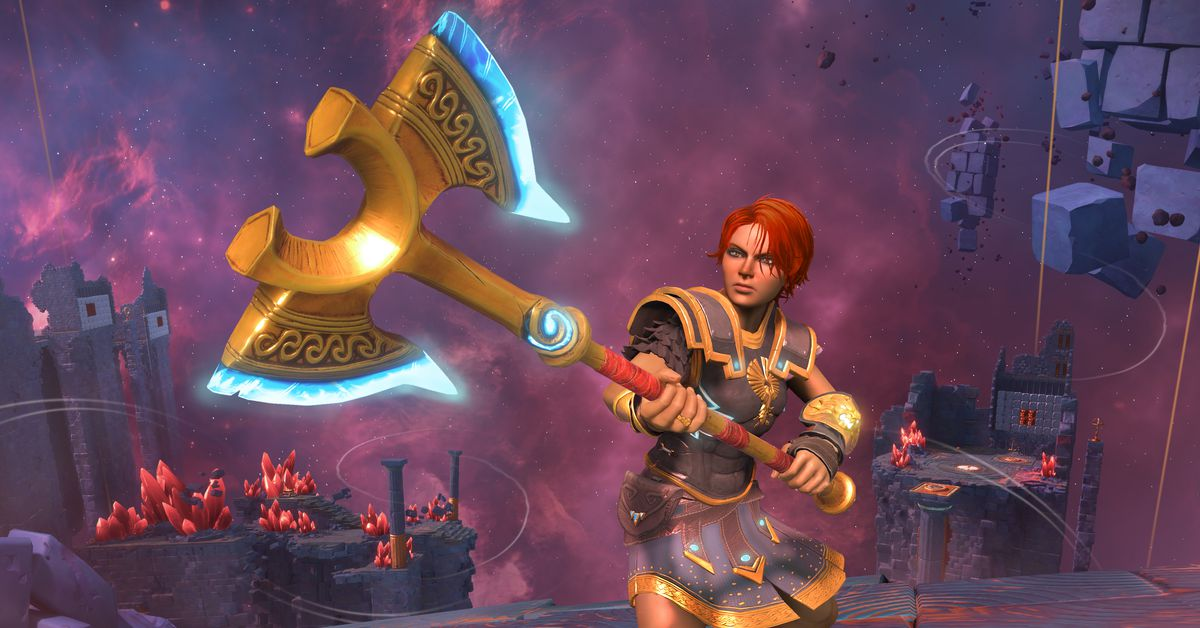 Playing Immortals Fenyx Rising: hands-on impressions