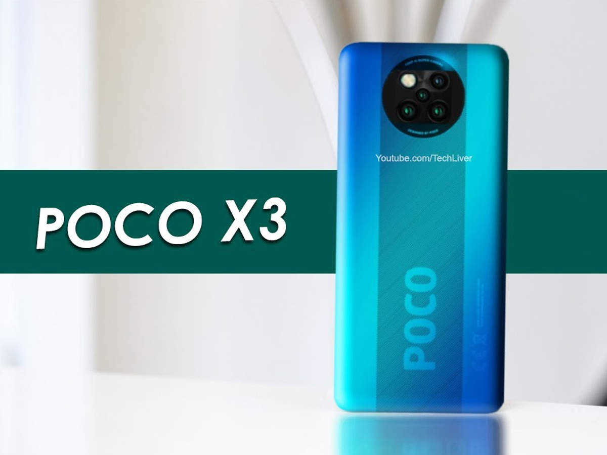 Poco X3 launch: price and features of Poco X3 leaked before launch, phone shown in video - poco x3 price and specifications leaked ahead of launch, phone appeared in hands-on video