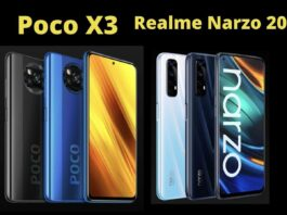 Poco X3 vs Realme Narzo 20 Pro: Which is better in both budget smartphones?