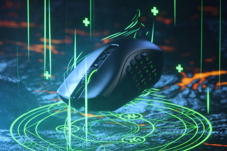 Razer Naga Pro is a Wireless Gaming Mouse With A Lot of Buttons