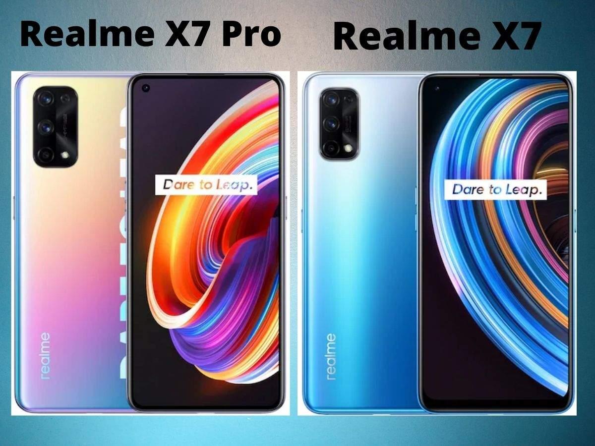 Reality X7 Pro and Reality X7 lift curtain, 65 watt superfast charging