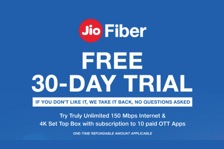 Reliance Jio Fiber Announces New Plans Starting at Rs 399