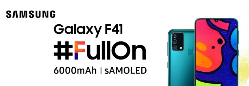 Samsung Galaxy F41 launch confirmed for October 8th