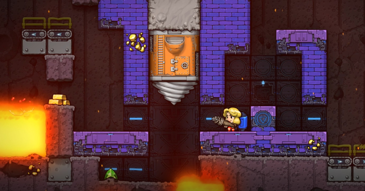 Spelunky 2 guide: How to activate the drill