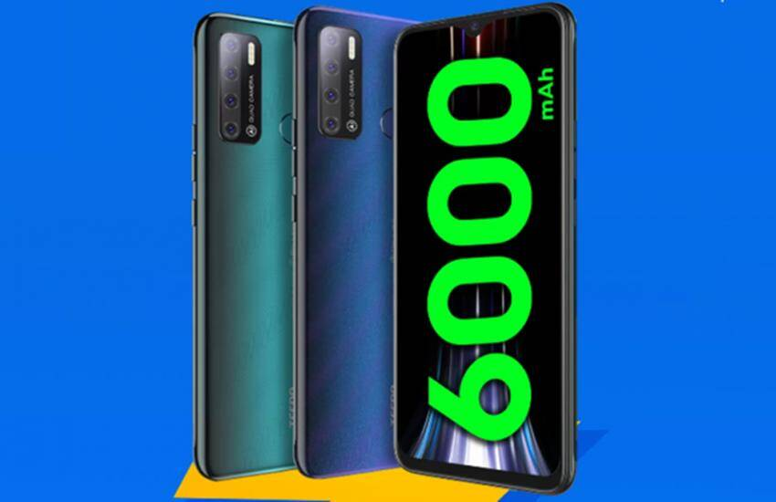 Tecno Spark Power 2 Air Price in India new tecno mobile launched with 6000 mAh battery, know price - Tecno Spark Power 2 Air with 6000 mAh battery launched in India, price less than 9 thousand