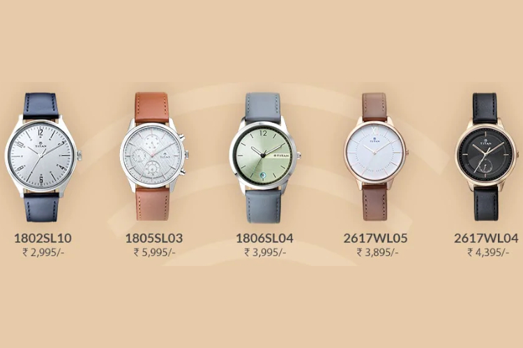 Titan Pay Watches with Contactless Payments Launched in India Starting at Rs. 2,995