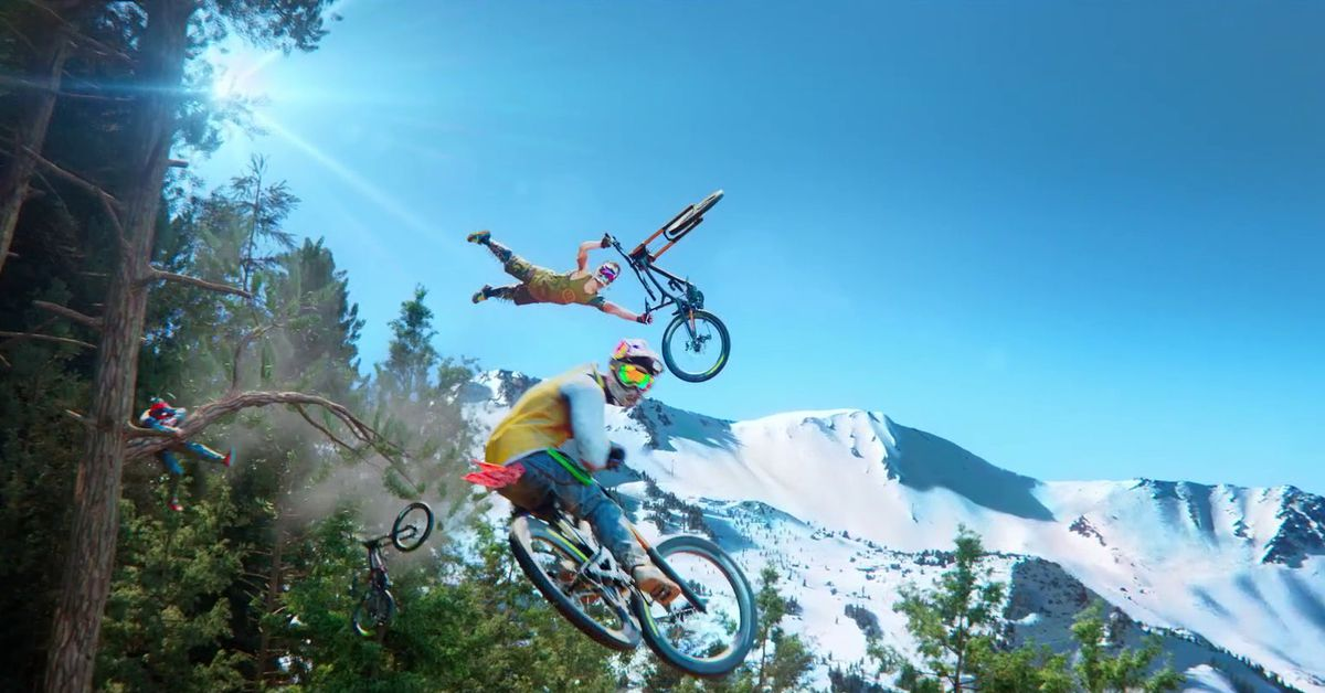 Ubisoft's new extreme sports game Riders Republic brings 50-player races to next gen