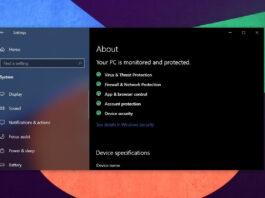 Windows 10 update installation