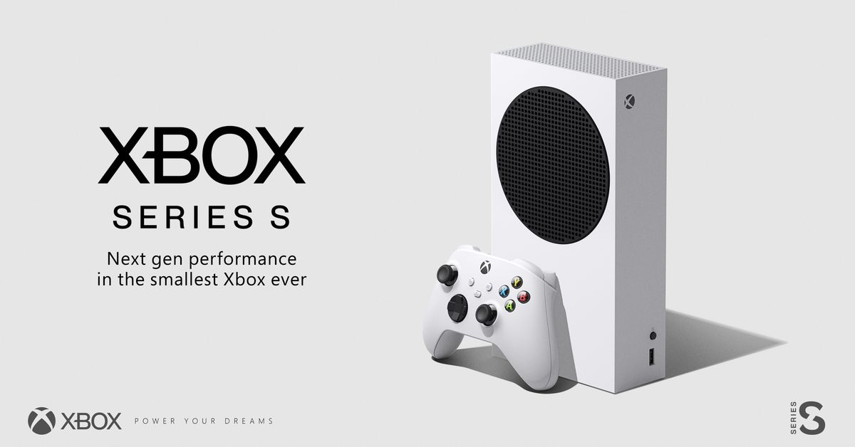 Xbox Series S confirmed by Microsoft, price revealed