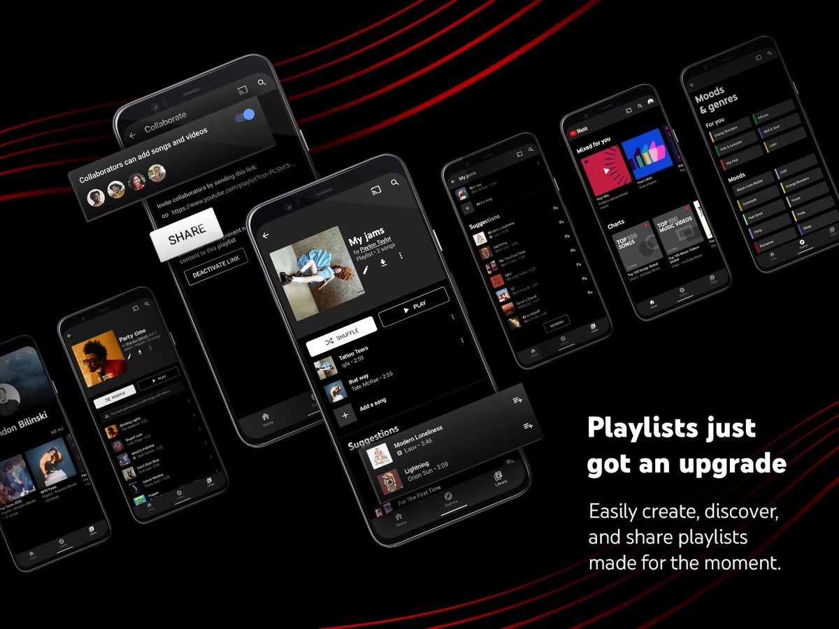 YouTube Music gets Assistive playlists to suggest relevant songs using AI