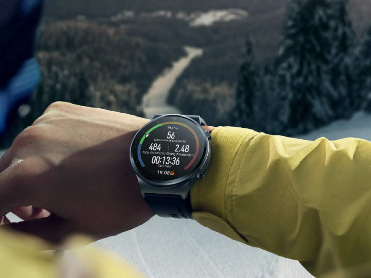 gadgets news news: new Huawei Watch GT2 Pro with 2 week battery backup launched, know price - huawei watch gt2 pro with 2 weeks of battery backup and huawei freebuds pro launched