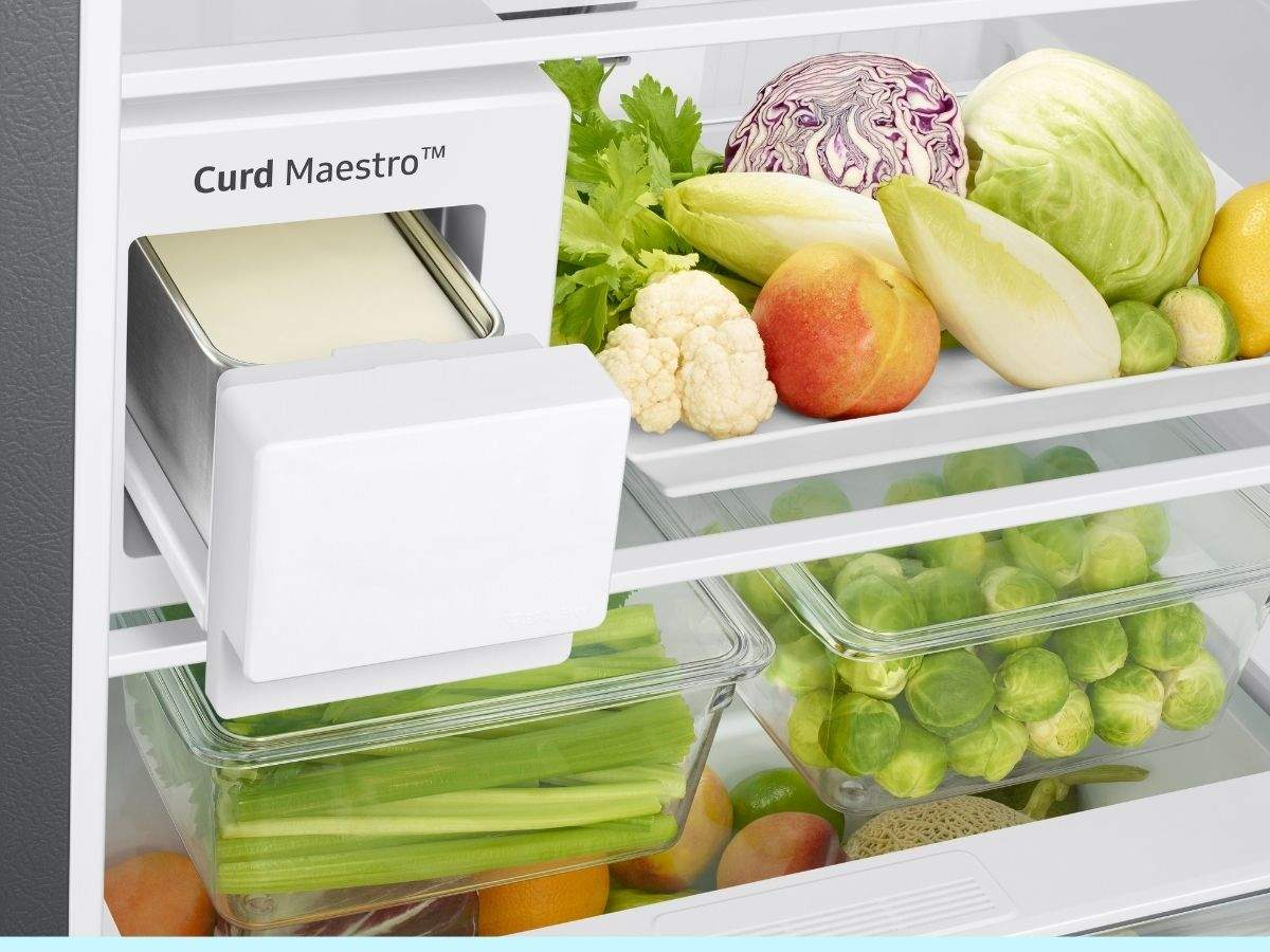 samsung curd maestro refrigerators: samsung curd maestro refrigerators: new variants launched in india - samsung curd maestro refrigerators launched in 386 liter and 407 liter capacities price features