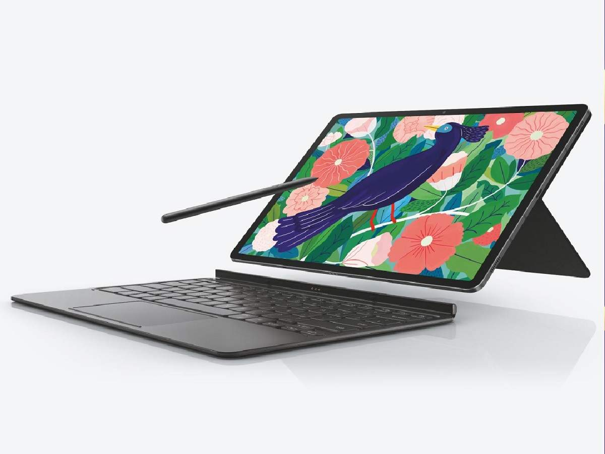 samsung galaxy tab s7 plus: samsung galaxy tab s7 + rocked in india, all units sold - samsung announced that galaxy tab s7 plus all units sold out in india