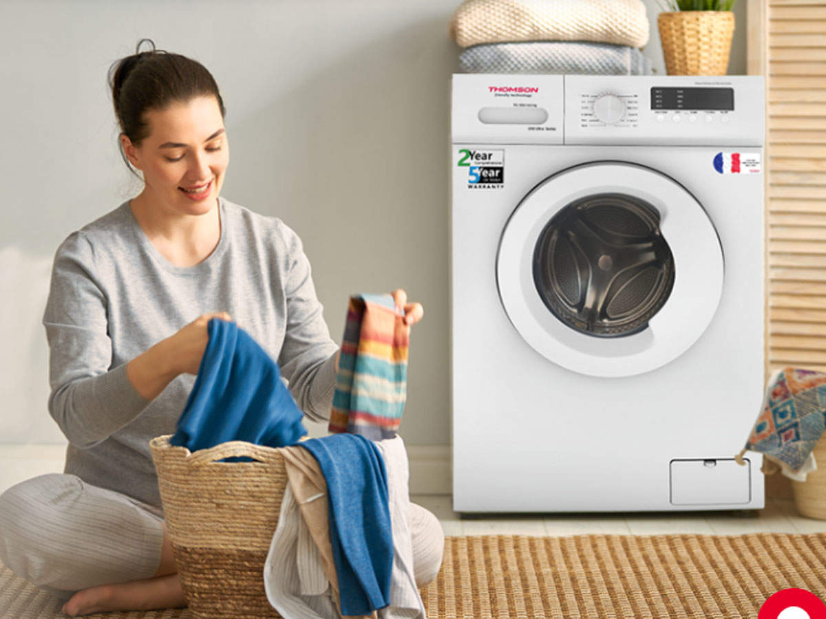 thomson washing machine: thomson brought three new fully automatic washing machines, know price and features - thomson launched two top loading and one front loading fully automatic washing machine in india