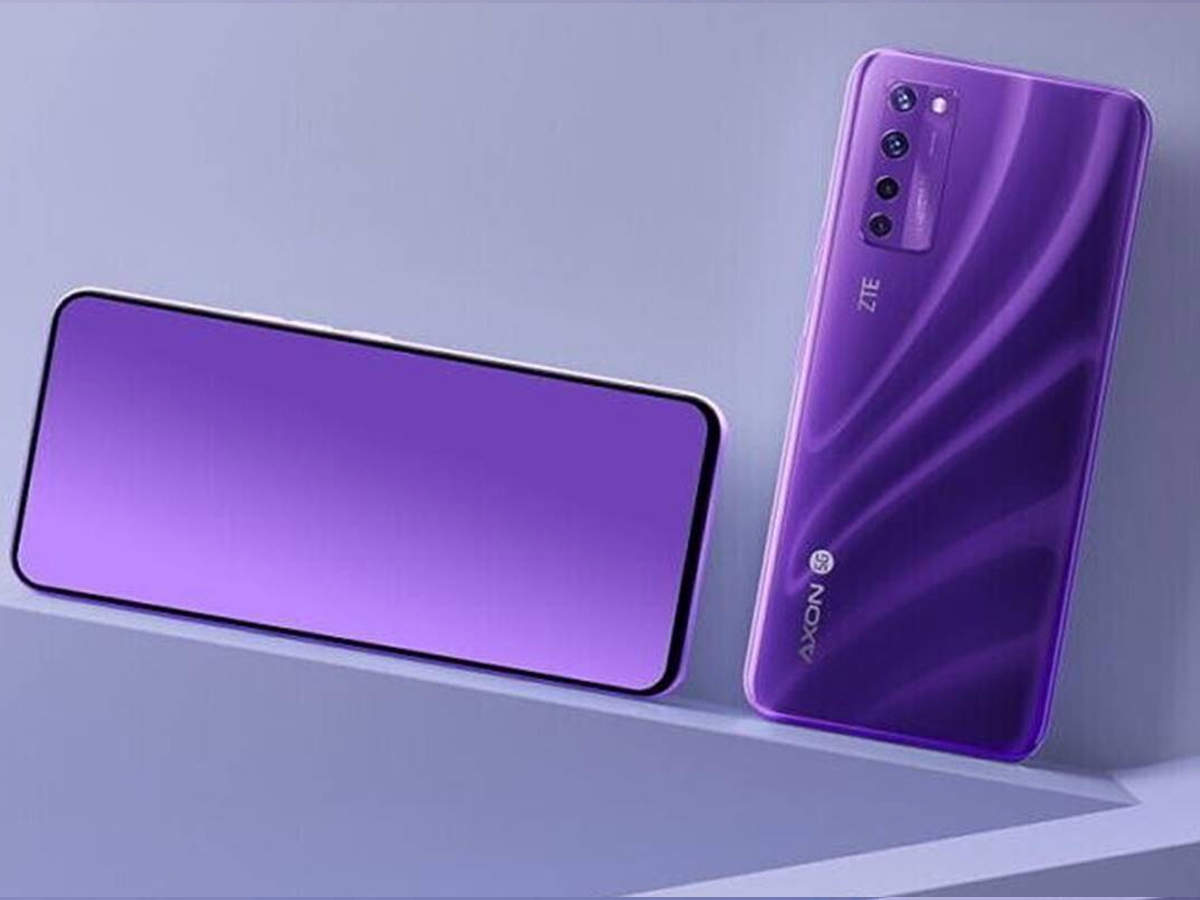 under display selfie camera phone: phone launched without selfie camera, it has world's first 'invisible camera' - world's first invisible selfie camera smartphone zte axon 20 5g launched, know price and specifications