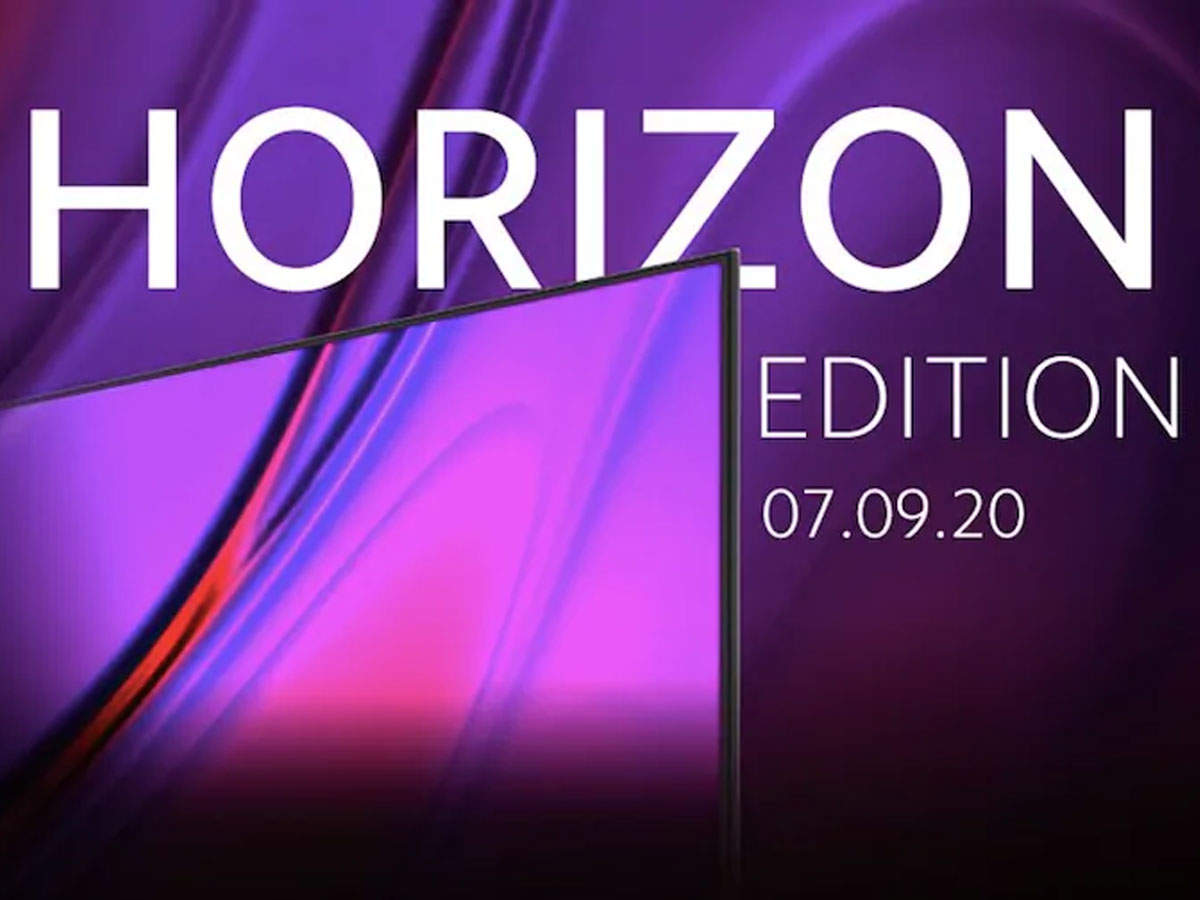 xiaomi mi tv horizon edition: Xiaomi will launch Mi TV Horizon Edition today, can get this powerful feature - mi tv horizon edition all set to launch today in india