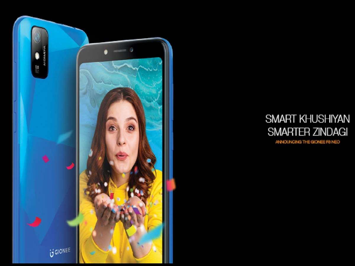 Gionee F8 Neo: Gionee's cool smartphone F8 Neo launched with lots of features, price very low - gionee f8 neo launched in india in partnership with udaan, see price specifications