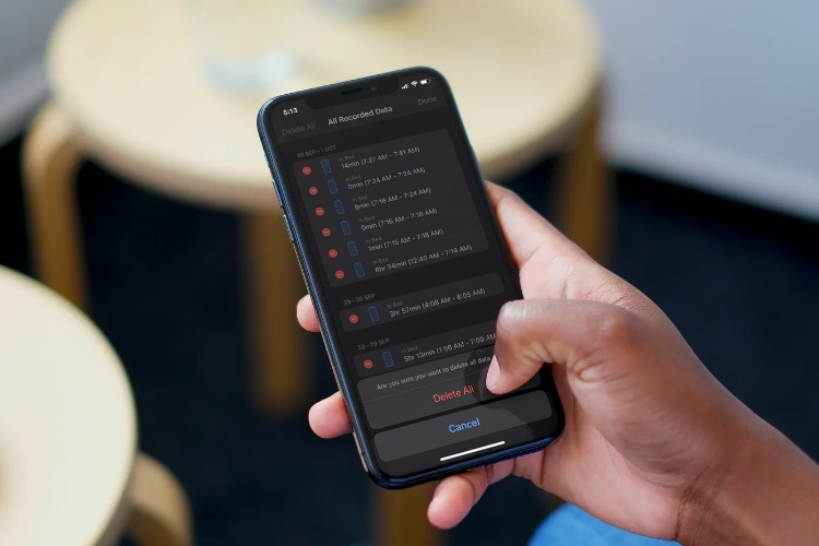 How to Delete Sleep Tracking Data in iOS 14 on iPhone