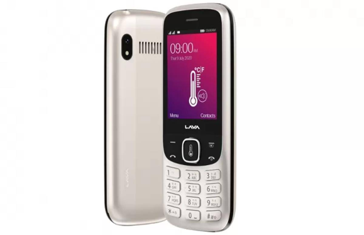 Lava Pulse 1 Price in India this feature phone sport contactless thermometer, Know Price - Lava Pulse 1