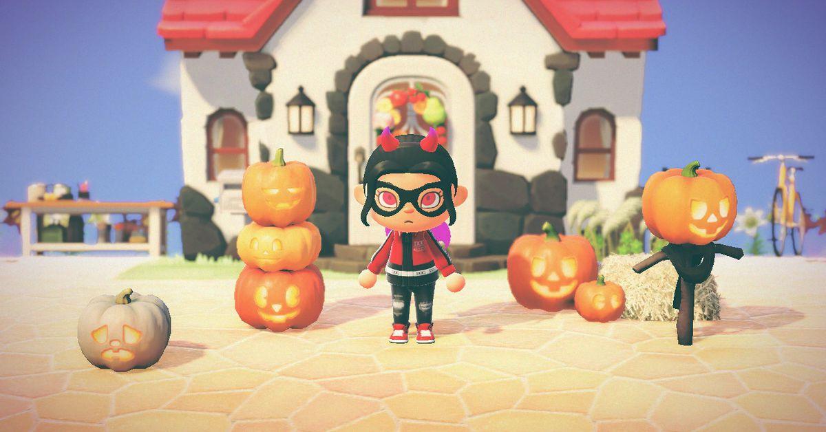 Pumpkin DIY recipe list for Animal Crossing: New Horizons