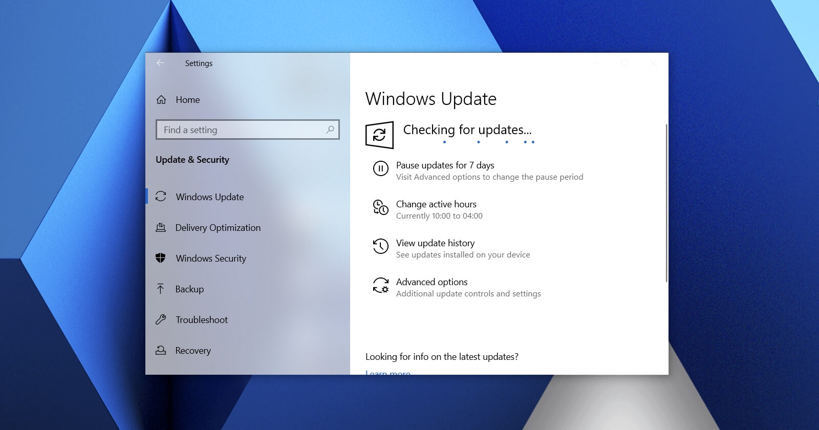 New Windows 10 October 2020 Update