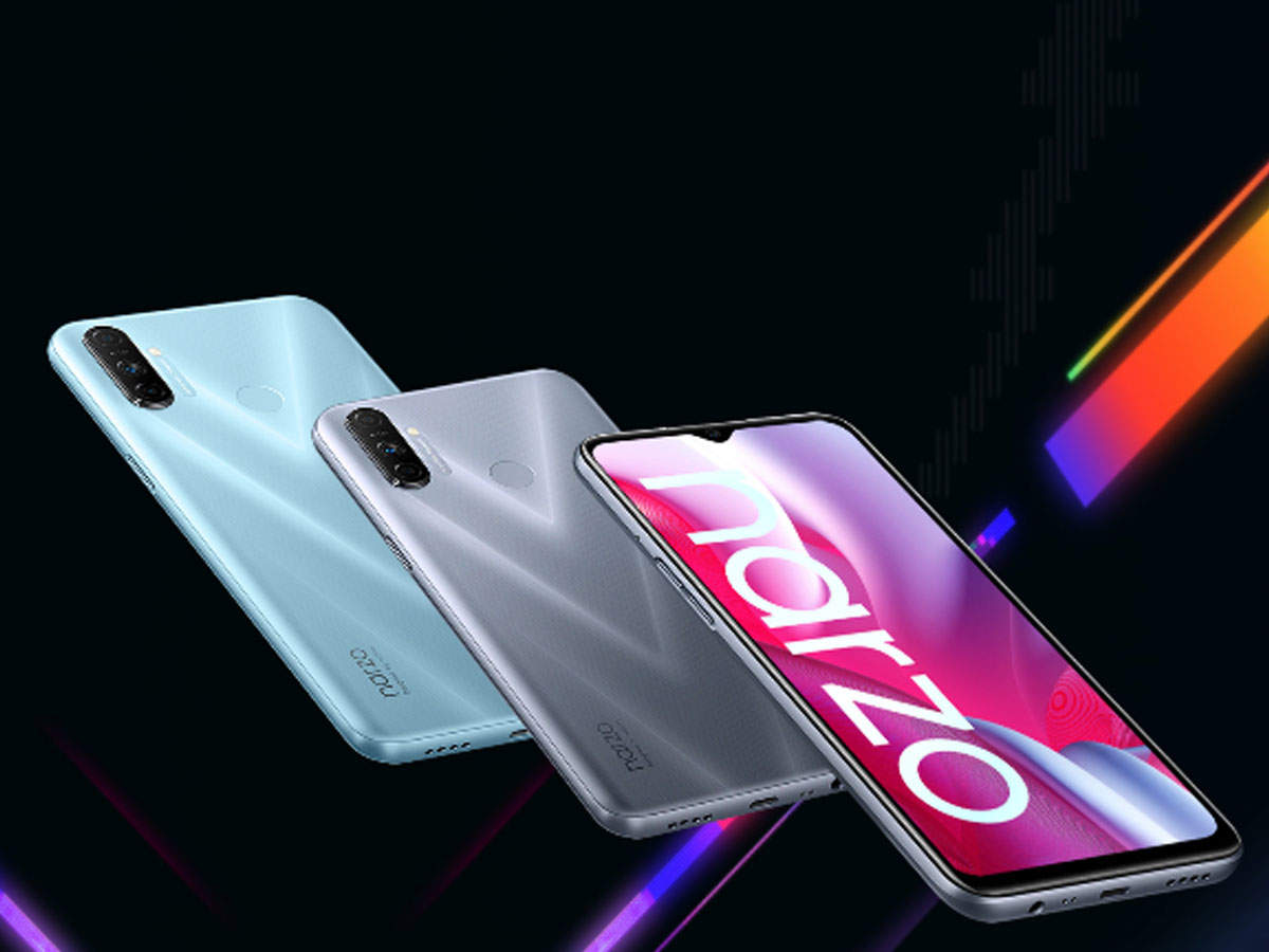 realme narzo 20: realme narzo 20 series showed power, sold more than 2 lakh phones in a week - realme solds over 2 lakh narzo 20 series smartphone in one week
