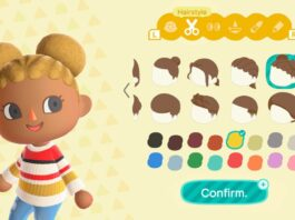 Animal Crossing: New Horizons gets new hairstyles in winter update