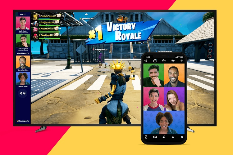 Fortnite Adds Houseparty Video Chat on PC, PS4, and PS5