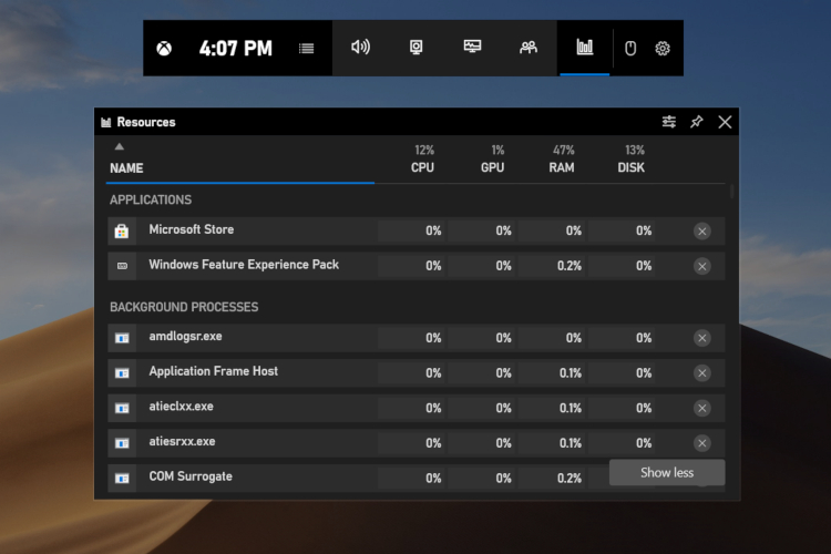 How to Monitor Tasks on Windows 10 While Playing Games
