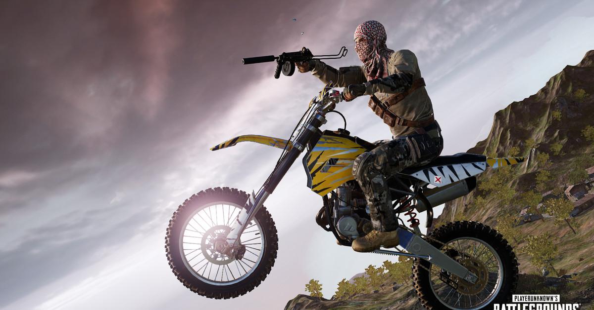 PUBG patch 9.2 notes: Dirt bikes, sidearm buffs