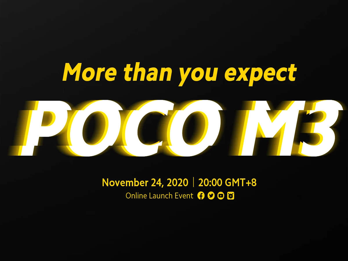 Poco M3 confirmed confirmed on 24 November, Dhansu features will be available in low price