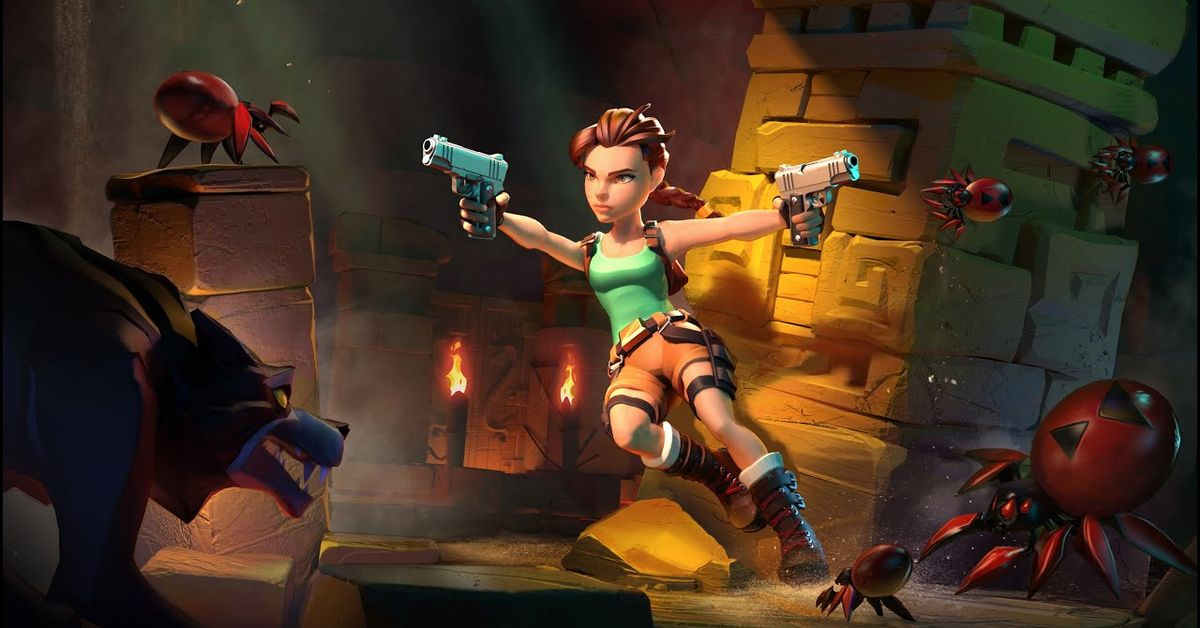 Tomb Raider Reloaded revealed as throwback Lara Croft game for Android, iOS