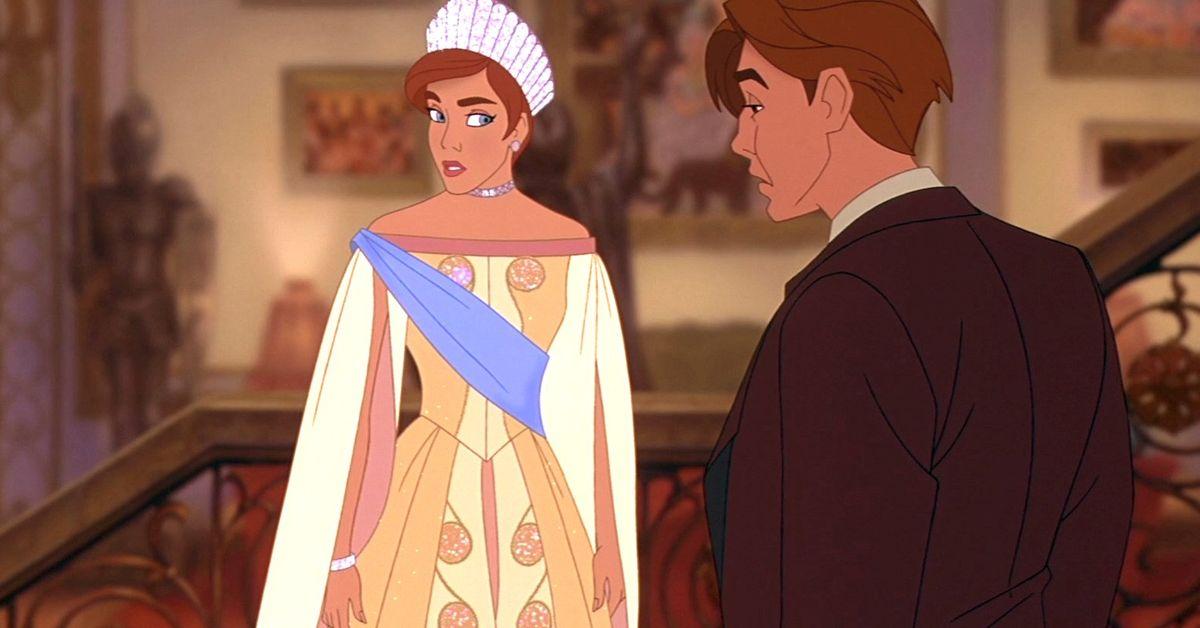 Anastasia isn't a Disney Princess because Disney has Princess rules
