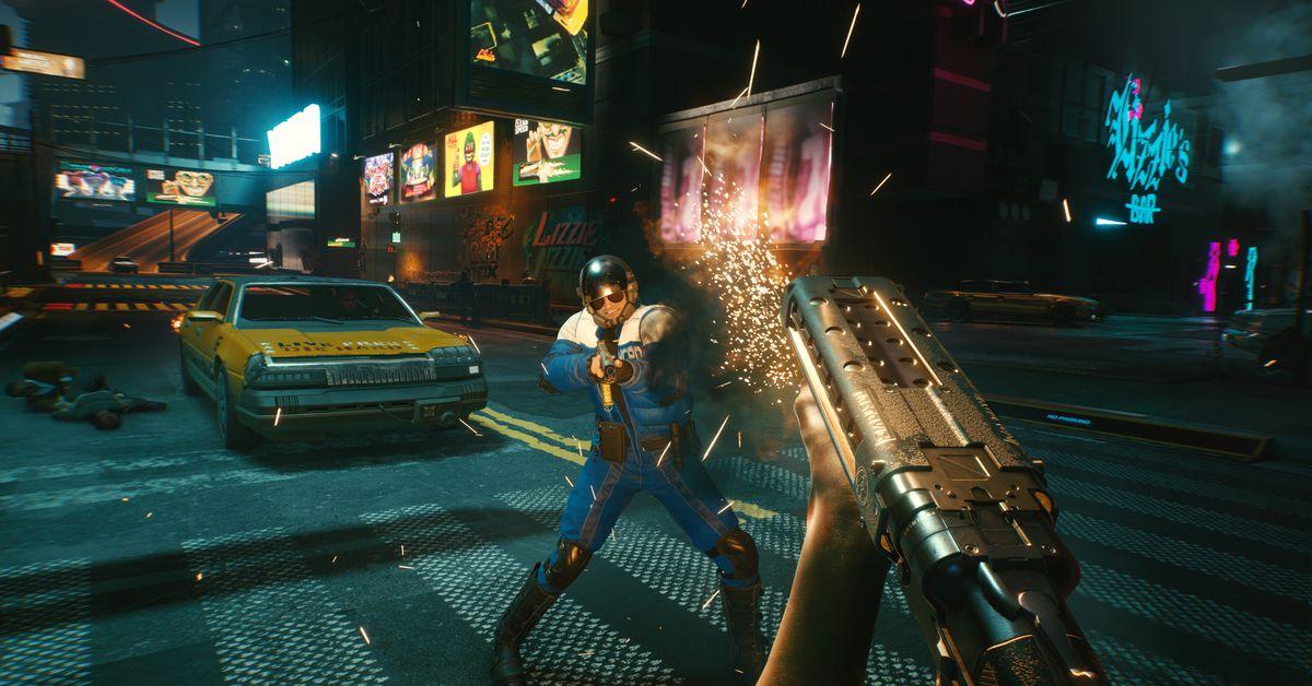 Cyberpunk 2077 patch fixes visual bugs, addresses seizure dangers