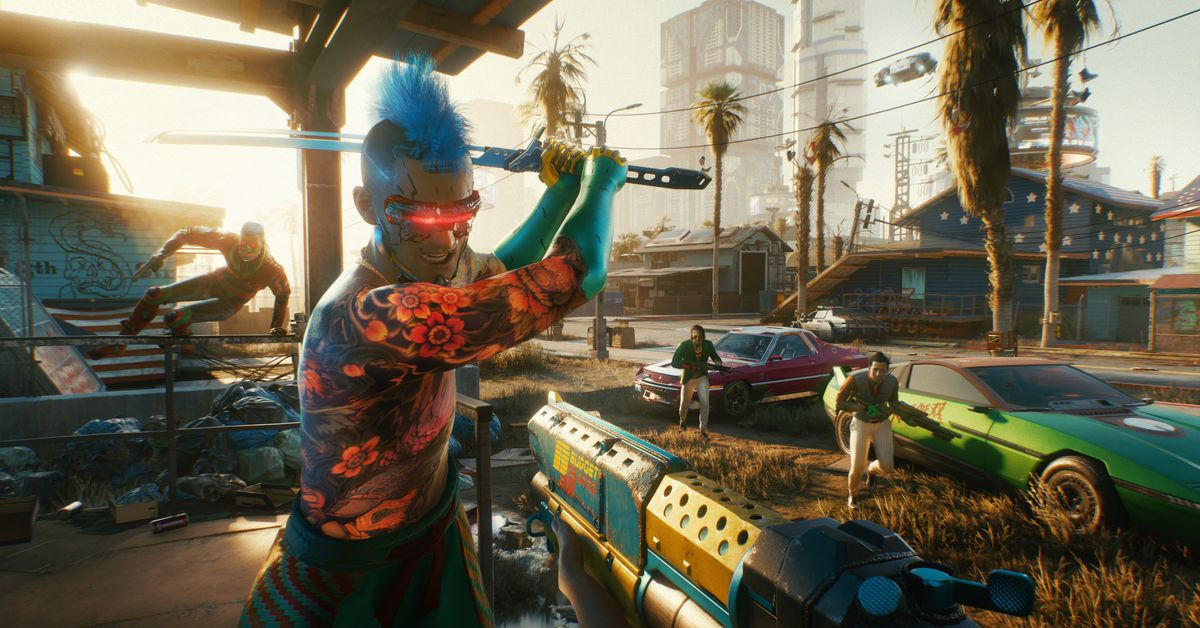 Cyberpunk 2077 review: dad rock, not new wave
