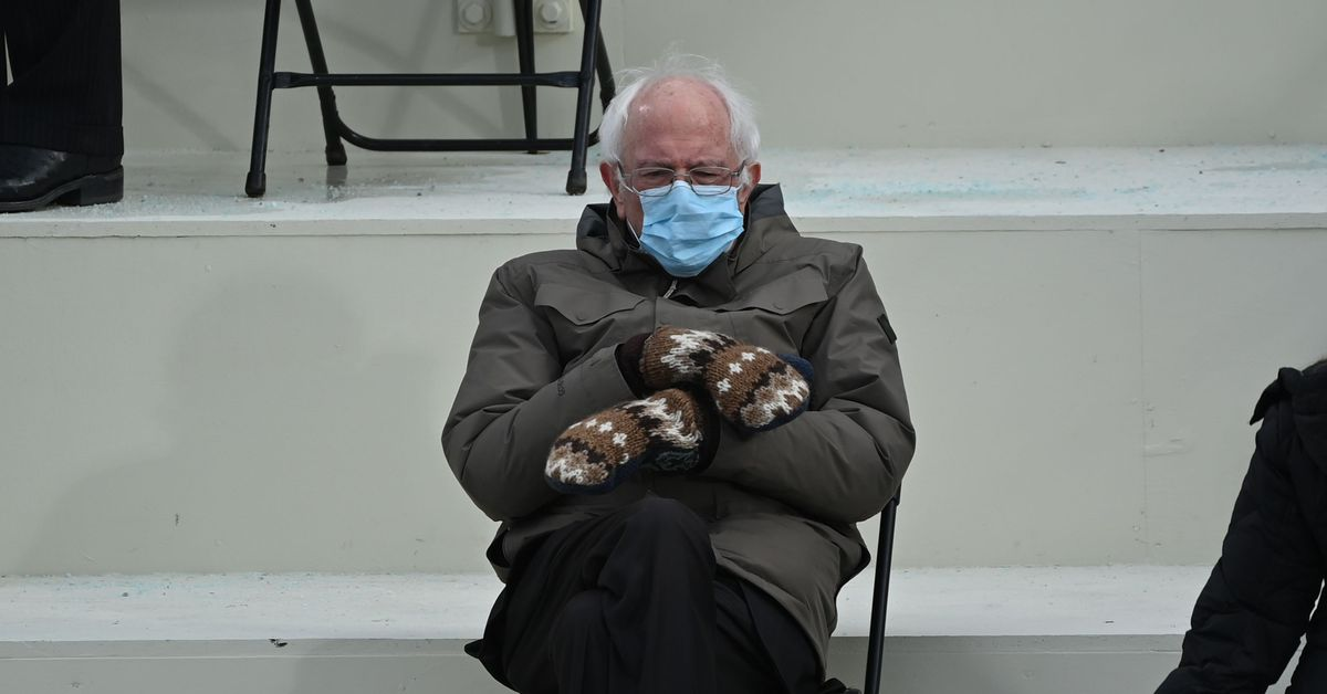 Add Bernie Sanders' mittens to your D&D game