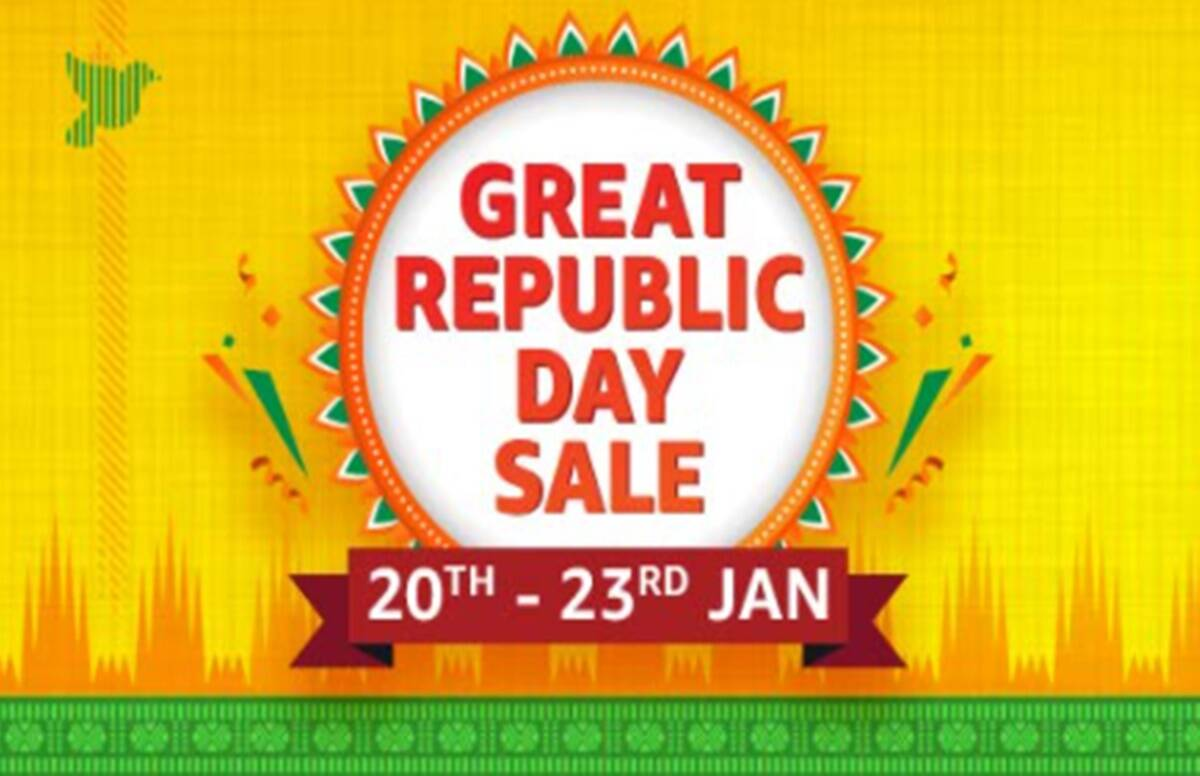 Amazon Great Republic Day Sale to start on Jan 20 and get upto 70 percent discount - Amazon Great Republic Day Sale to start from January 20, up to 70% discount