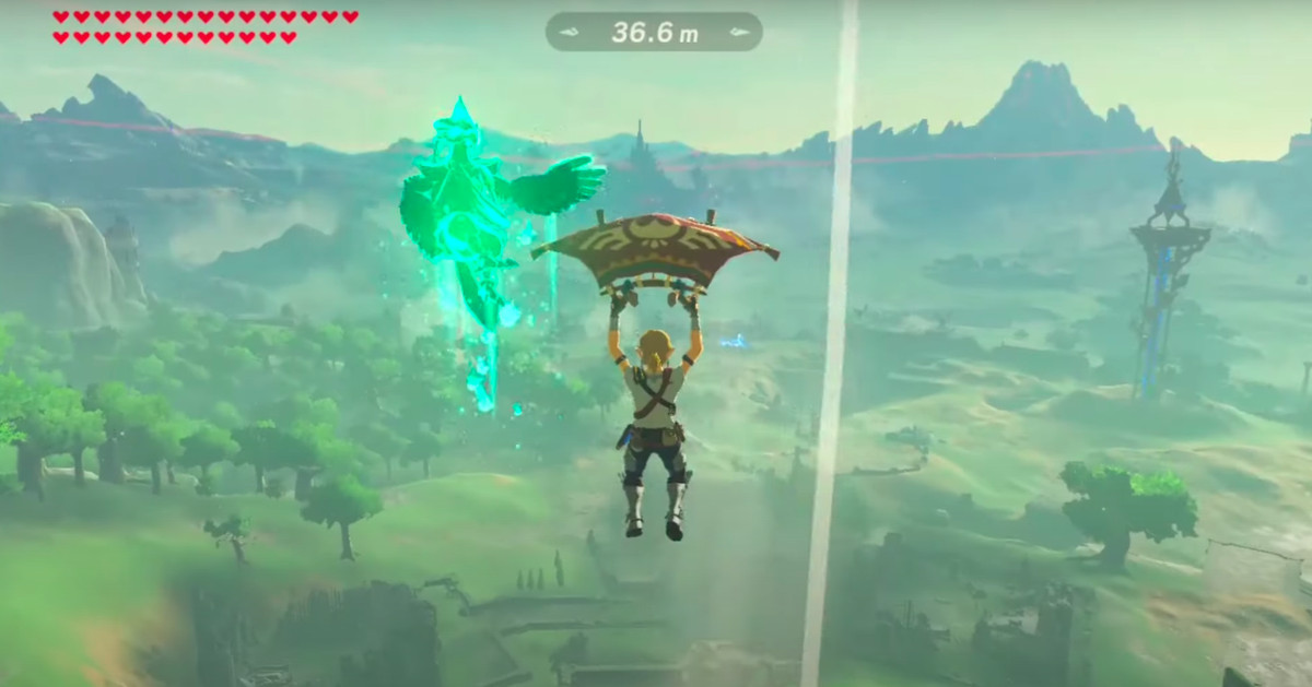 Breath of the Wild trick shot defies the laws of physics, understanding