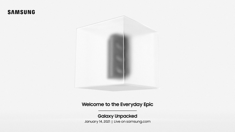Galaxy S21 Galaxy Unpacked event confirmed for January 14