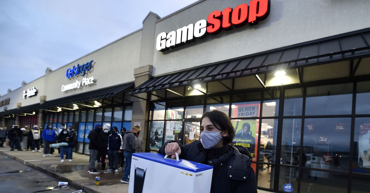 GameStop stock hits record high when short sellers clash with Redditors