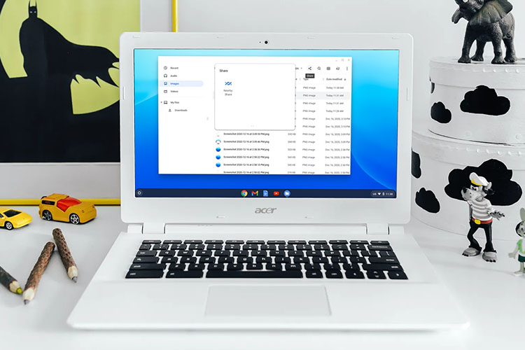 How to Enable Nearby Share in Chromebook