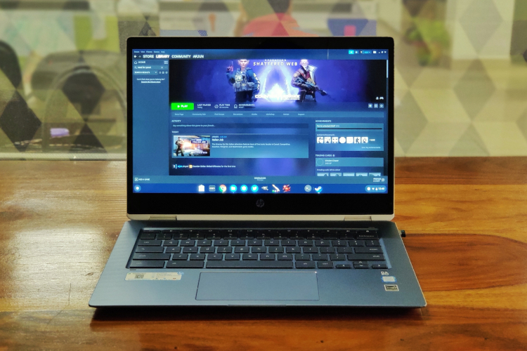 How to Install and Play Steam Games on a Chromebook (Guide)