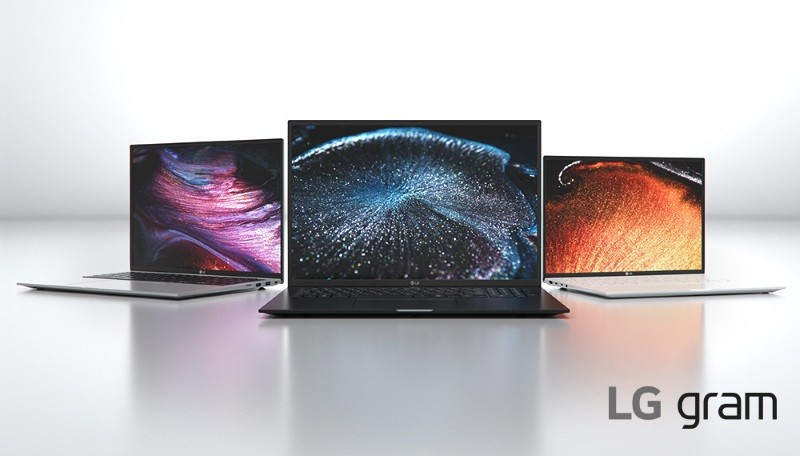 LG Gram 2021 notebook series with Intel Evo certification launched